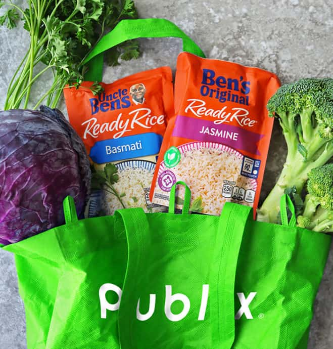 Shopping at publix for Bens Original- Ready Rice