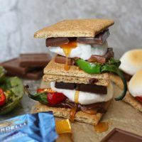 Sweet Spicy Oven Baked S'mores