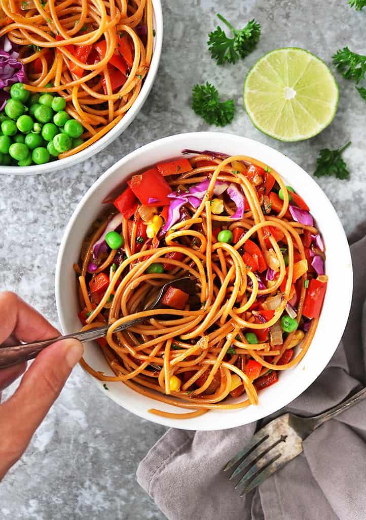 quick easy plant-based dinner